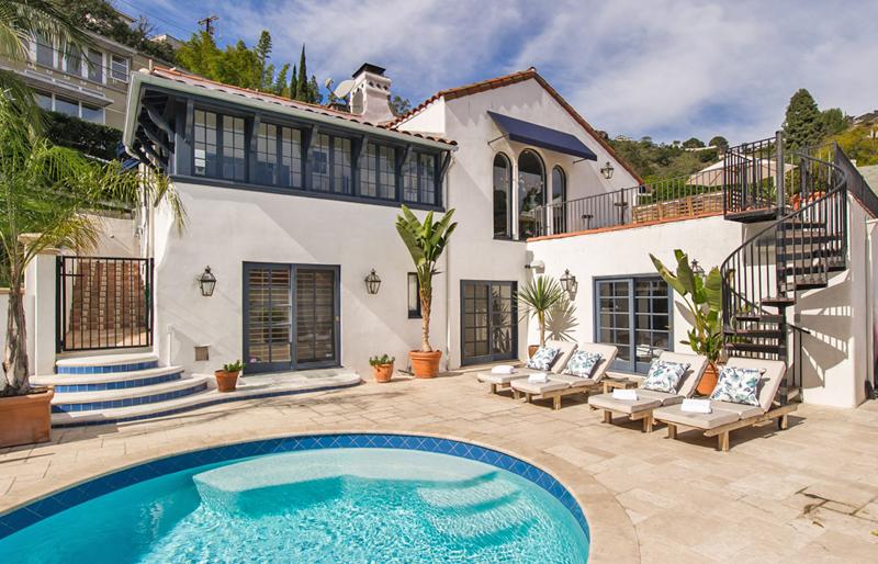 <b>SOLD</b><br>1621 N. Crescent Hts<br>Hollywood Hills<br/>Offered at $2,650,000