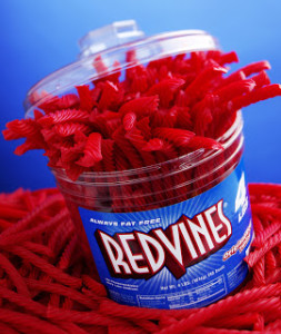 Santa Monica Realtor's Red Vines addiction!
