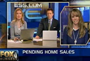 Connie De Groot on Fox Business discussing National Pending Homes Sales