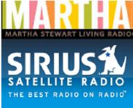 "Connie De Groot on Martha Stewart ""Living"" radio show."