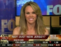 "Connie De Groot on Fox Business show ""Willis Report"""