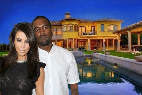 Kim and Kanye's Bel Air Home Is On The Market