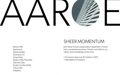 Finishing Strong: Aaroe On Track to Close Over $2.2B for 2015