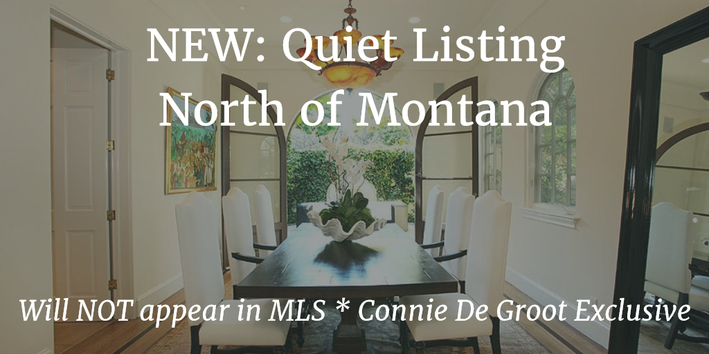 New Listing – Not in MLS: Sophisticated Spanish Villa North of Montana