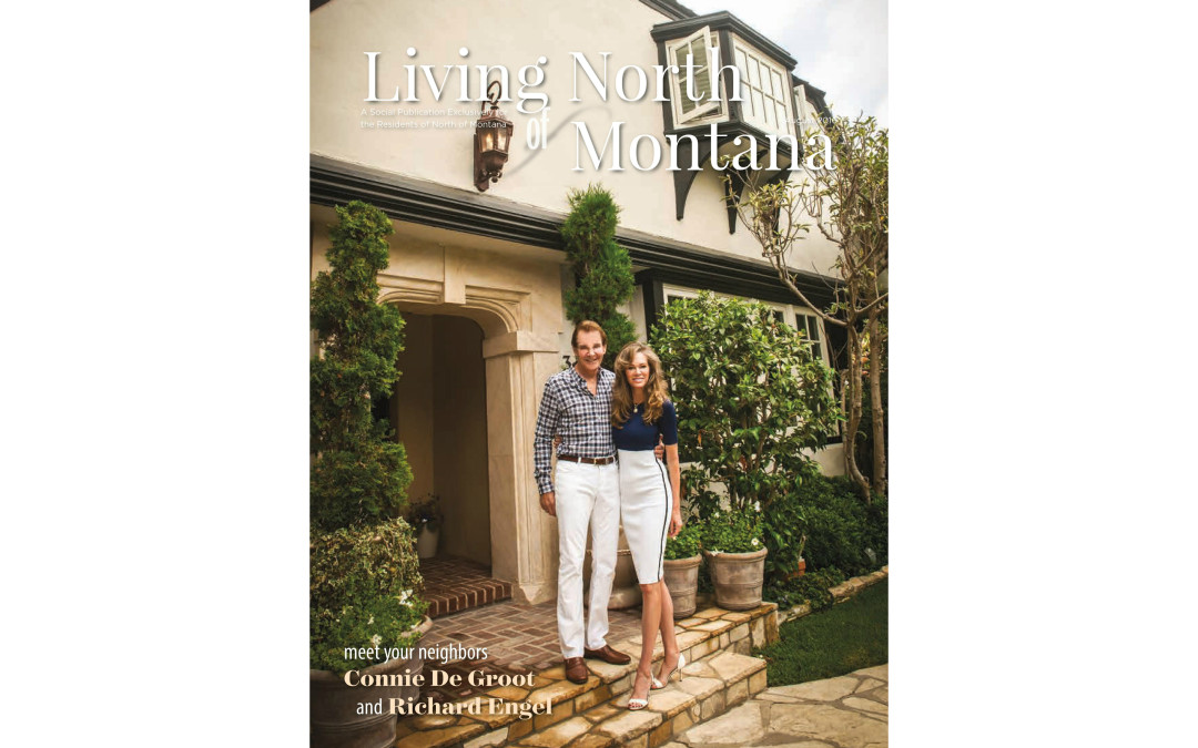 "Featured on cover ""Living North of Montana"" magazine!"