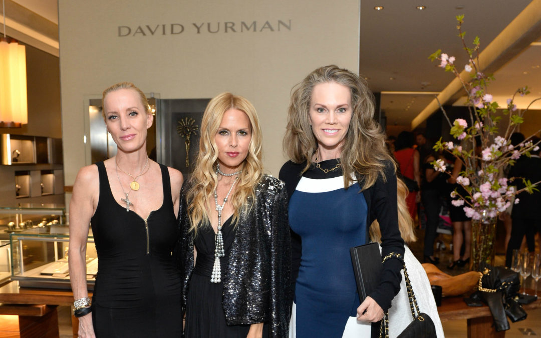 Vanity Fair event with Rachel Zoe at David Yurman