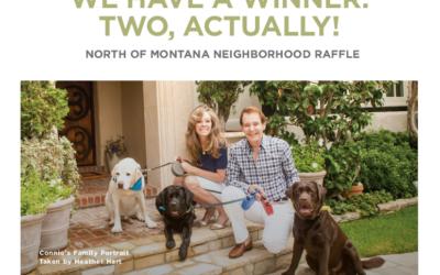 Congratulations to our Neighborhood Raffle winners!