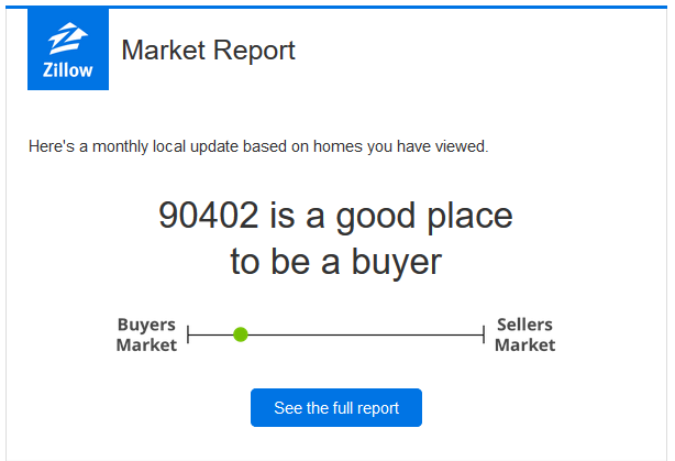 From Zillow: 90402 Market Update