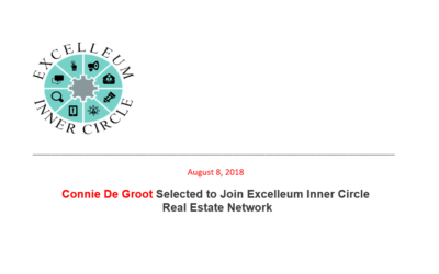 I've been selected to join Excelleum Inner Circle Real Estate Network